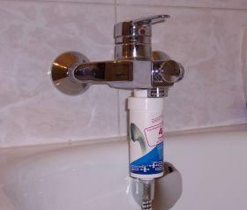 FitAqua zuhanyszűrő KDF-el