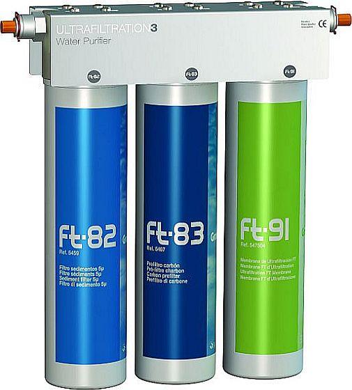 Puricom FT Line 3 átfolyós víztisztító