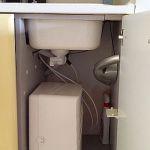 PurePro M800DF víztisztító beépítve