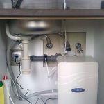 PurePro M800DF víztisztító beépitve